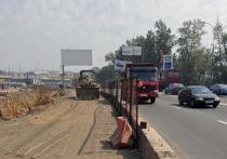 В Москве затруднится движение по Волоколамскому шоссе