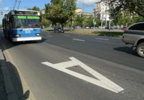 Столичным водителям могут запретить пользоваться выделенными полосами по выходным