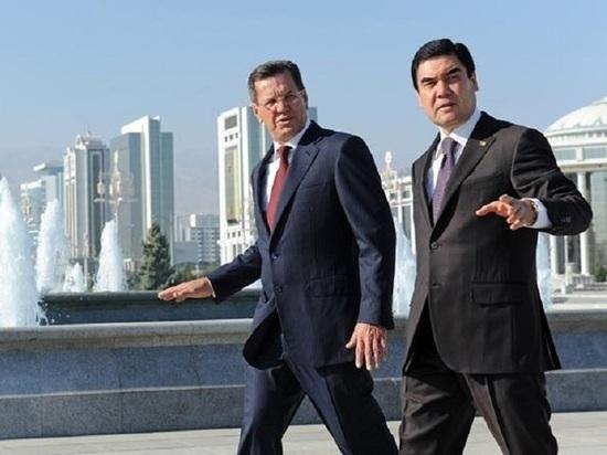Александр Жилкин встретился с президентом Туркменистана Гурбангулы Бердымухамедовым