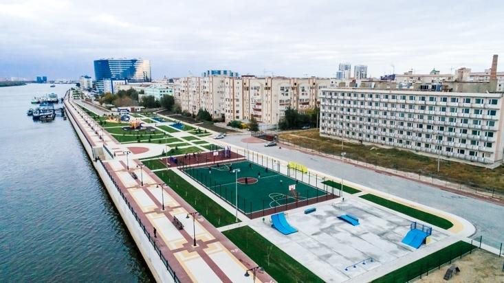 ВАстрахани открыли участок Петровской набережной