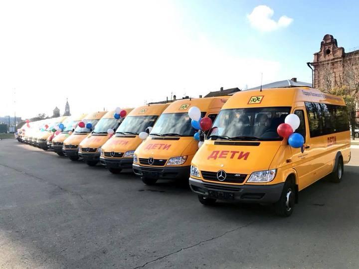 Сельские школы Астрахани получат 19 новых автобусов