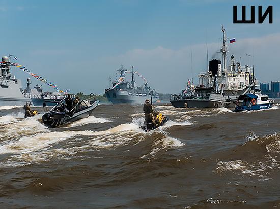 Корабли Каспийской флотилии проверили на живучесть