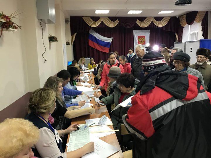 Секс на избирательном участке в семилукском районе