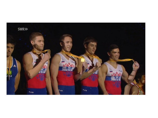 Подмосковный гимнаст всоставе сборной РФ одержал победу этап Кубка мира помногоборью